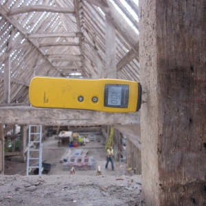 Use resistance moisture meters with care